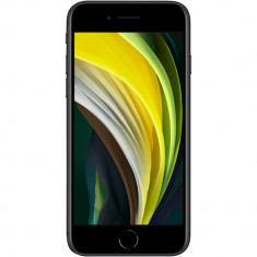 Telefon mobil Apple iPhone SE 2, 64GB, 4G, Negru
