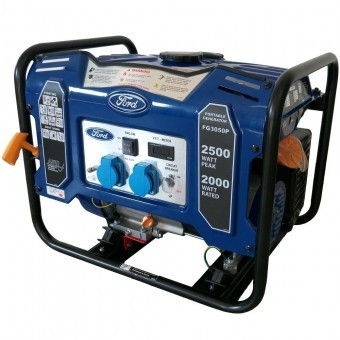 Generator Ford Tools FG3050P, 2500W, 230V, AVR inclus, motor benzina foto