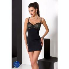 PE Floris chemise schwarz