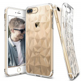 Husa Ringke Air Prism Ultra Thin 3D Cover Gel TPU pentru iPhone 8 Plus 7 Plus transparent (APAP0005 RPKG)