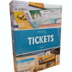 Album TICKETS pentru bilete/bancnote cu 50 folii