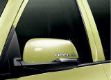 Stickere oglinda CHROME - OPEL (set 2 buc.)
