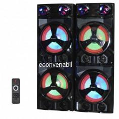 Boxe Active Audio cu Bluetooth, RadioFM, USB, MIC 50W Ailiang UF7620DT