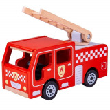 Joc de rol - Masinuta de pompieri PlayLearn Toys, Bigjigs