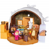 Cumpara ieftin Set Masha si Ursuletul Winter Bear's House, Simba