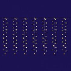 Perdea de lumini 300 LED-uri, 15 ghirlande, telecomanda, latime 3m