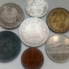 Lot monede 2 lei 1876 rara argint