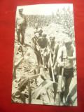Fotografie -Genisti Militari in actiune 1975 , dim.= 11x17,5cm