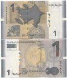 Bancnota Azerbaidjan 1 Manat 2017 - P31b UNC