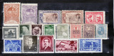 Romania   1900  -  1950    Lot    18    timbre  nestampilate, Istorie, Nestampilat