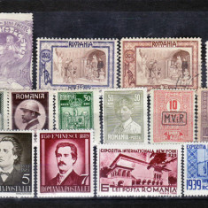 Romania   1900  -  1950    Lot    18    timbre  nestampilate