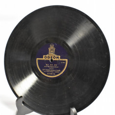 Disc vechi pentru Patefon Gramofon Odeon Violetta Ionescu Ligda Tanase Carabus