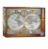 Cumpara ieftin Puzzle Eurographics - Map of the ancient world, 1000 piese