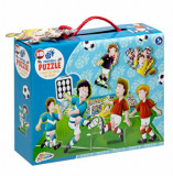 Puzzle 3D Fotbal, 45 piese, Grafix