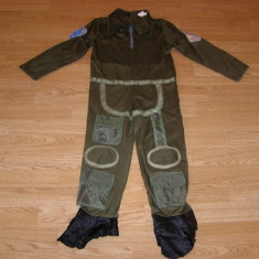 Costum carnaval serbare aviator astronaut pentru copii de 5-6 ani, Din imagine