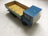 Jucarie romaneasca camion DAC masinuta din tabla comunista veche de colectie RSR