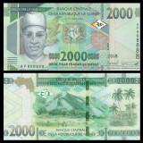 !!!  GUINEA  -  2.000  FRANCI  2018  -  P  NEW  -  UNC