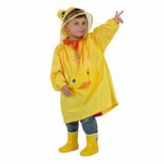Pelerina de ploaie pentru copii R201 Galbena L