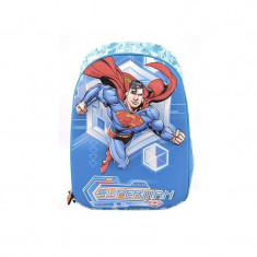 Ghiozdan Hero Superman, clasele primare, 1 compartiment, design 3D, Pigna
