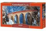 Cumpara ieftin Puzzle panoramic Landwasser Viaduct - Alpii Elvetieni, 600 piese