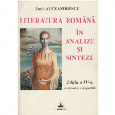 Literatura romana in analize si sinteze