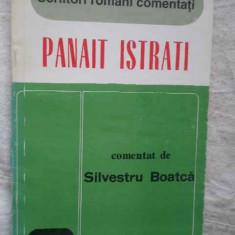 Panait Istrati - Comentat De Silvestru Boatca ,271979