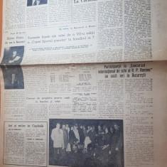 ziarul sportul popular 20 februarie 1964-poezia sportului de victor eftimiu