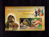 Romania Hong Kong Emisiune comuna 2011 Arta populara traditionala 2 timbre MNH, Nestampilat