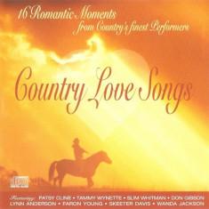 CD Country Loves Songs, original, holograma