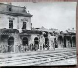 Gara Predeal 1916/ 28x22 cm