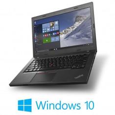Laptopuri Refurbished Lenovo ThinkPad L460, Intel 4405U, Webcam, Win 10 Home