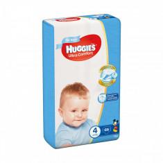 Scutece Huggies Mega Comfort Boys, Nr 4, 8 - 14 Kg, 66 buc