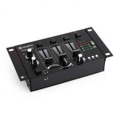 Skytec STM-3020, DJ mixer 3/2 canale, intrare MP3, USB