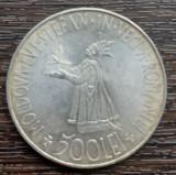 (A406) MONEDA DIN ARGINT ROMANIA - 500 LEI 1941,REGELE MIHAI I,STARE FOARTE BUNA