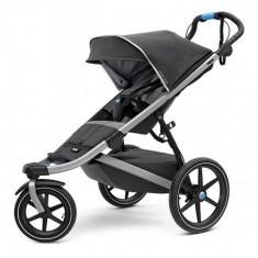 Carucior Sport Thule Urban Glide Dark Shadow, recomandat copiilor pana la 34 kg
