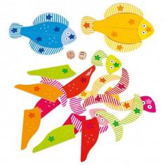 Joc educativ Pestisorii colorati