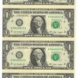 Coala Bancnote - USD - Statele Unite ale Americii 1 Dolar $ - 2009 / A016