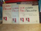 LOT 4 CAIETE DE FILOSOFIE ( ANTON  DUMITRIU ) : NR. 1 , 3, 4 / 1942_10 / 1945