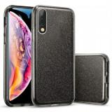 Cumpara ieftin Husa de protectie Samsung Galaxy A30 / Samsung Galaxy A50 2019 Neagra Sclipici Color Silicon TPU Carcasa