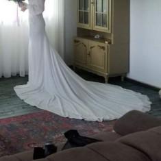 Rochie de  mireasa, sirena, Crystal Design