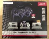 Vand KIT 4 in 1 Speedlink dedicat pentru consola PS3, Controller