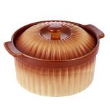 VABENE VB-6020038 Cratita rotunda din ceramica cu capac 3 L