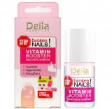 Baza si balsam cu Vitamine pentru Unghii deteriorate, Delia Cosmetics Stop Broken Nails, 11 ml