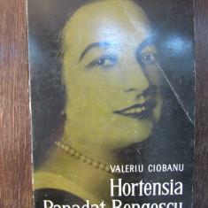 VALERIU CIOBANU - HORTENSIA PAPADAT-BENGESCU