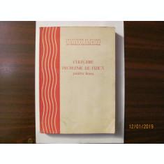 """GE - """"Culegere Probleme de Fizica pentru Liceu"""""""
