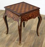 Masa din lemn masiv furniruit pentru table si sah  CAT-SA7-NEU, Mese si seturi de masa