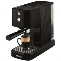 Espressor manual Calvi XP3410, 1460 W, 15 bar, 1 l, negru