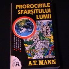 PROROCIRILE SFIRSITULUI LUMII-A.T. MANN-NOSTRADAMUS-EDGAR CAYCE-BLAVATSKY-203 PG