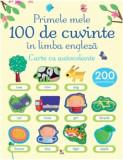 Primele 100 de cuvinte in limba engleza. Carte cu autocolante/***