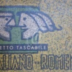 Libretto tascabile italiano-romeno. Ghid de conversatie italian-roman